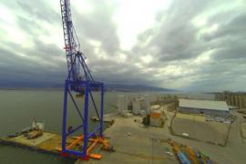 1256t Port crane transportation