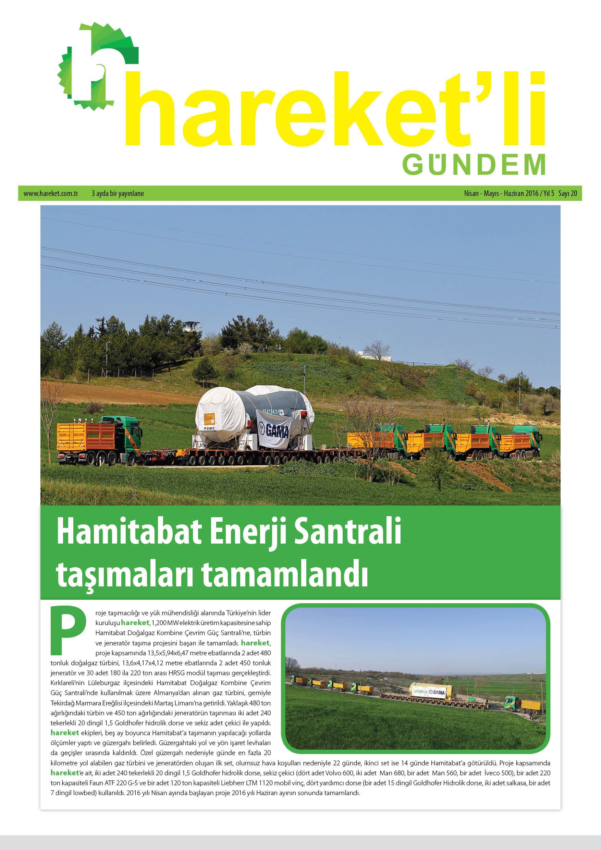 Hareket'li Gündem Magazine - ISSEU 20